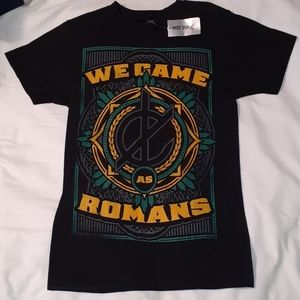 NEW With Tags We Came As Romans Crest T-Shirt XS